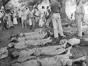 Casualties of the Bataan Death March.
