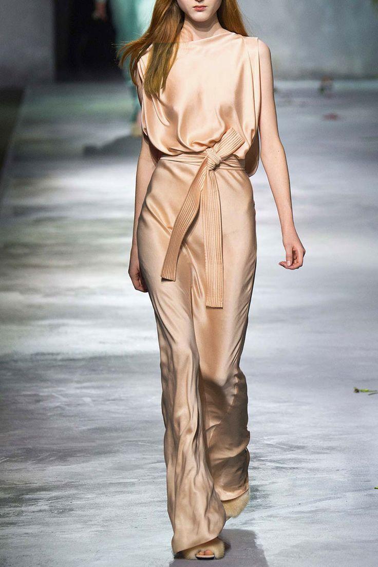 Runway Fashion Ladies Silk Elegant Career Suits