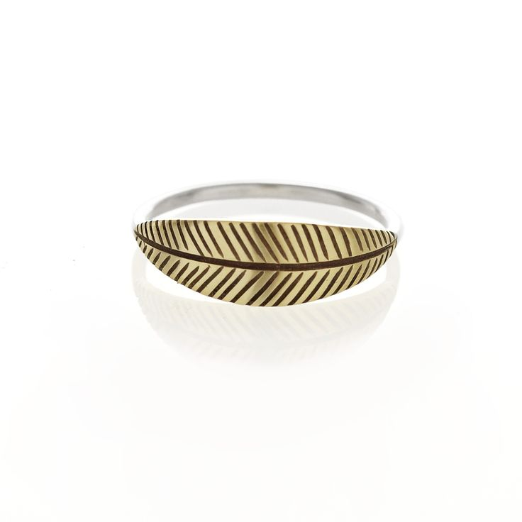 Brass palm ring