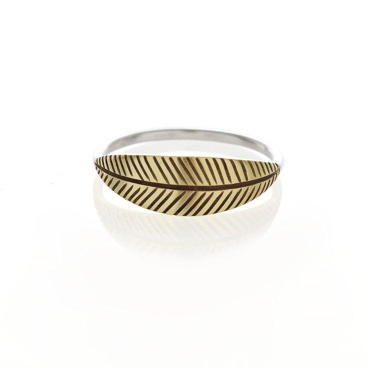 Brass palm ring