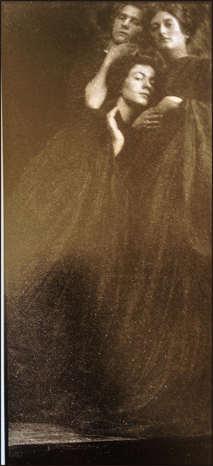 Anton Josef Trčka - Composition with three women in black robes, 1913