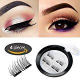 #8: Double Dual Magnetic Eyelashes – Magnet Ultra-thin 0.2mm – 3D Reusable Fake Eyelashes For Women Makeup – Natural Look