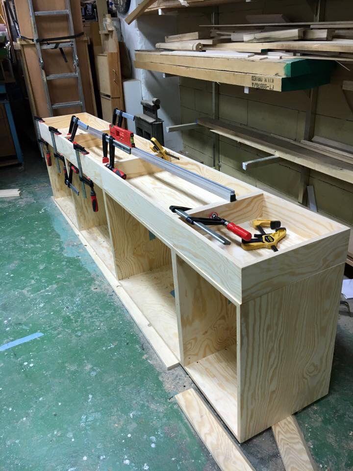 Furniture maker Tobias Fjellström at work. #wip #workinprogress #sandqvist #paris #dawnofideas