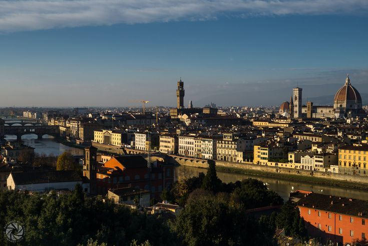 Florence in Chiaroscuro (Landscape from Piazzale Michelangelo)