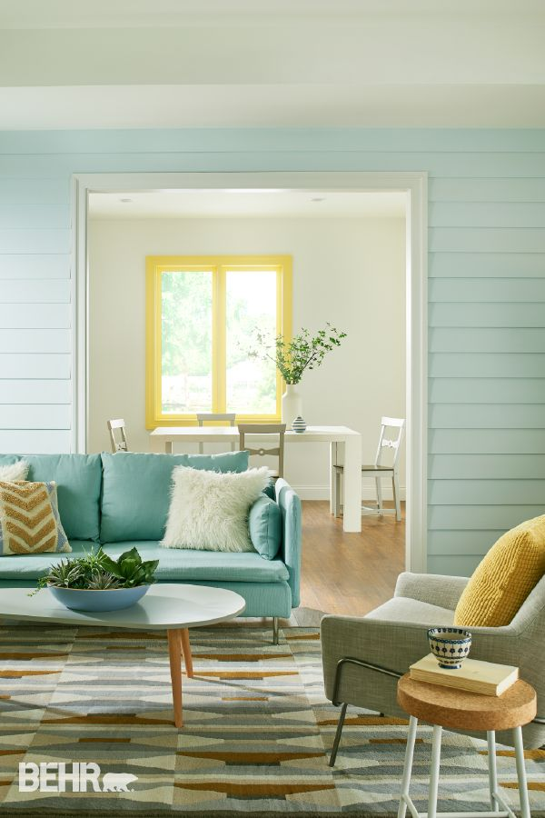Create The Perfect Background To Your Relaxing Living Space Oasis With 2017 BEHR Color Trends
