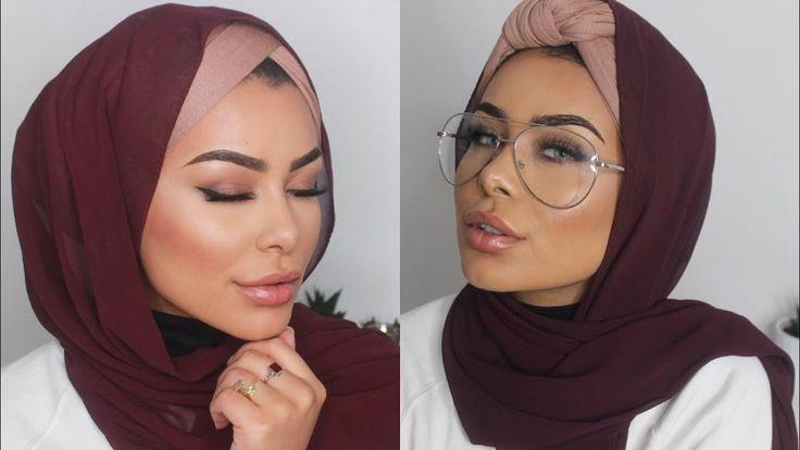 Two Turban w/ Coverage Hijab Styles   Easy Hijab Tutorial