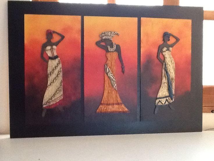 Cuadros de africanas | Yai desing | Pinterest
