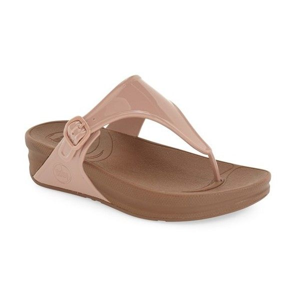 Rose Orteil-string Fitflop Daim Shimmy Or Tongs Fitflop 66pbsfN