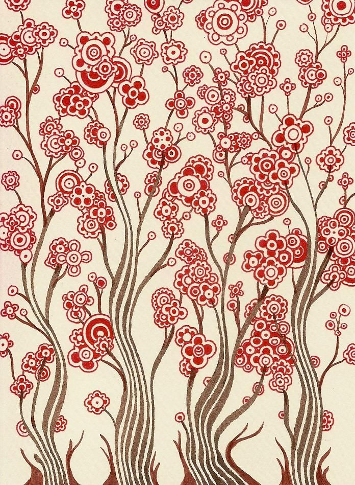 Full Bloom ~ by Alkaline Samurai, one of my favorite artists on Flickr  :-)  #doodle  #myt