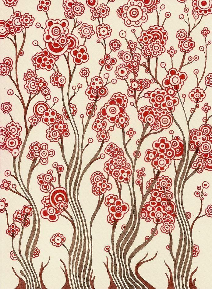 Full Bloom ~ by Alkaline Samurai, one of my favorite artists on Flickr  :-)  #doodle