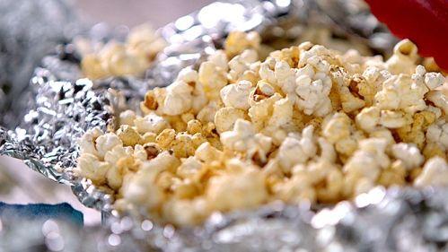 Popcorn sur le feu