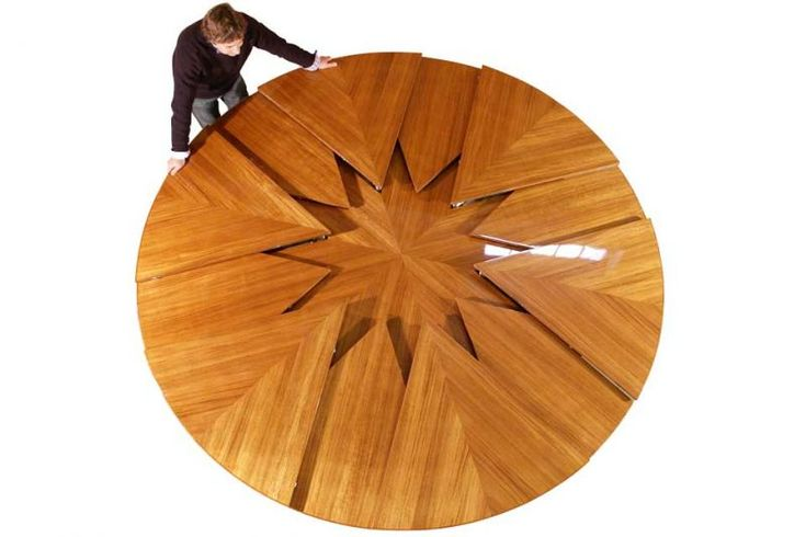 Lovely Fletcher Capstan Table, A Mechanical Expanding Dining Table