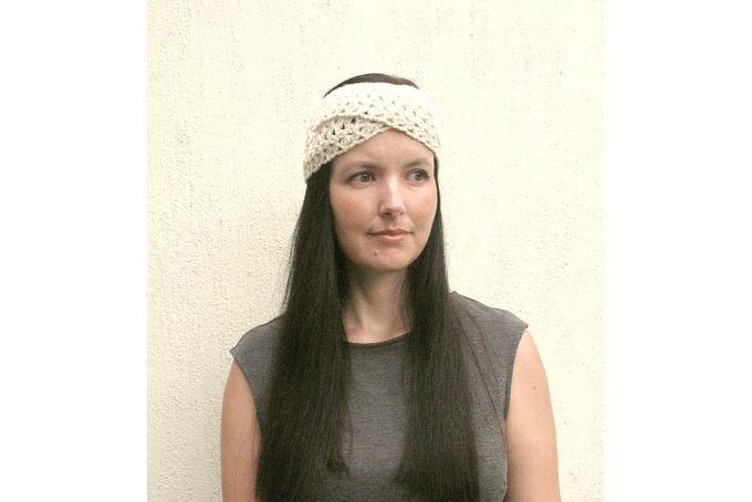 Boho Spring Headband, Crochet headband, Twisted Head wrap, Gift for her, made to order by VeraJayne
