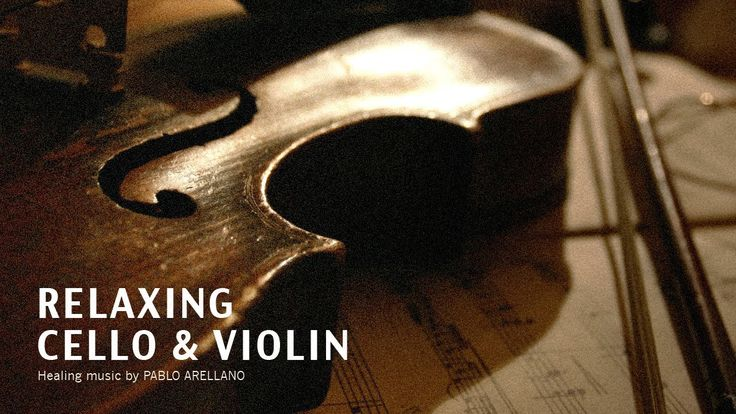 Healing And Relaxing Music For Meditation (Baroque Cello & Violin) - Pab...