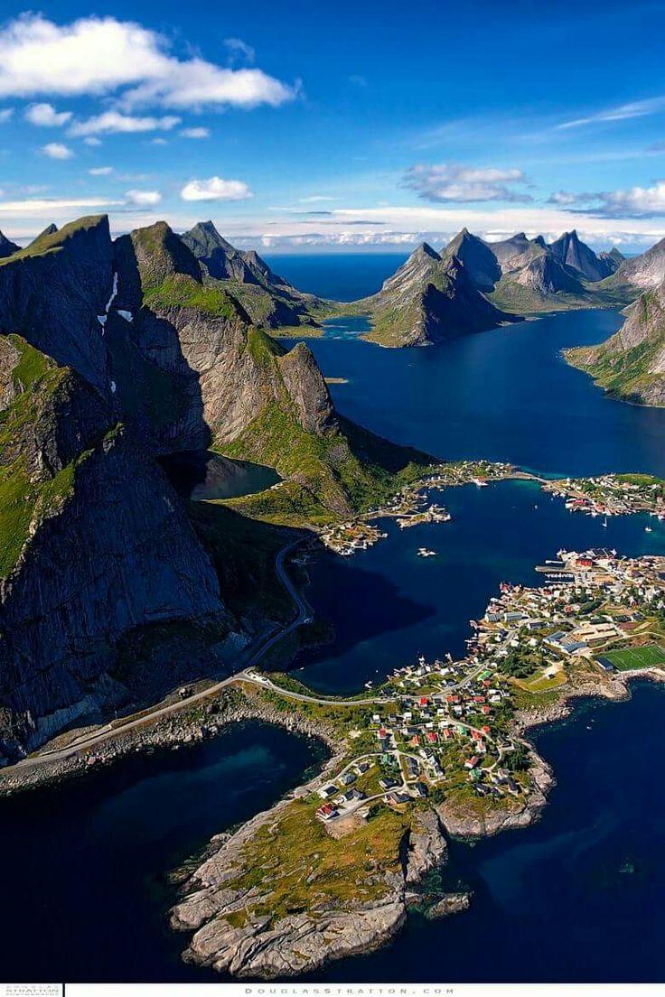 Лофотенские острова. Norway by Douglas Stratton
