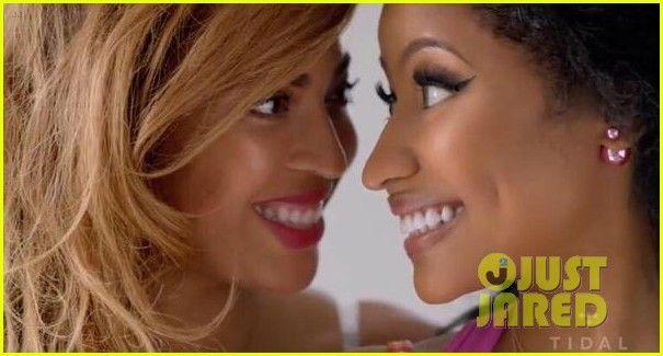 beyonce nicki minaj feeling myself video 04 Beyonce and Nicki Minaj just dropped a brand new music video for