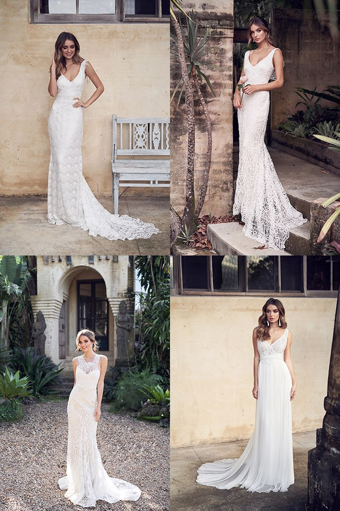 Quiz Which Wedding Dress Style From Anna Campbell S Wander Collection Best Fits Your Personal Junebug Weddings