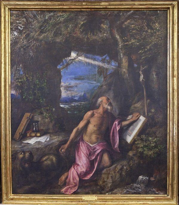 Martirio de San Lorenzo. Tiziano