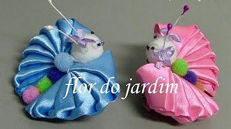 Sonho de borboletinha - DIY - Dream of butterflies flor do jardim - YouTube