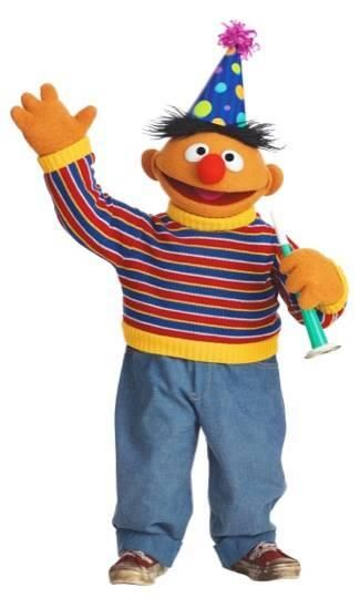 Today- January 28th is Ernie's birthday!