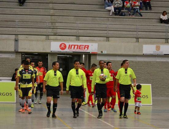 Otro gran encuentro de 14 goles. #Rionegro derrotó 8-6 a #Cóndor en la séptima fecha. #FútbolRevolucionado