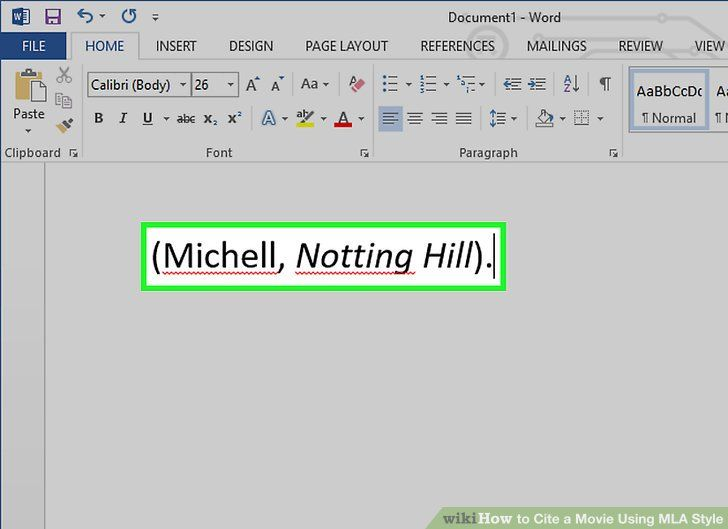 How To Cite A Movie Quote Picture 3 Ways To Cite A Movie Using Mla Style Wikihow How To Cite A Movie Quote Here Is How To Cite A Movie