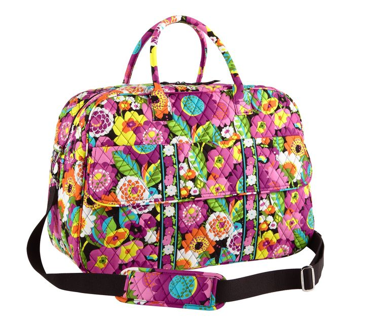 Vera Bradley Grand Traveler in Va Va Bloom Love this! was $120 now $60 found this at--->>>Vera Bradley Clearance Sale, Up To 60% off!