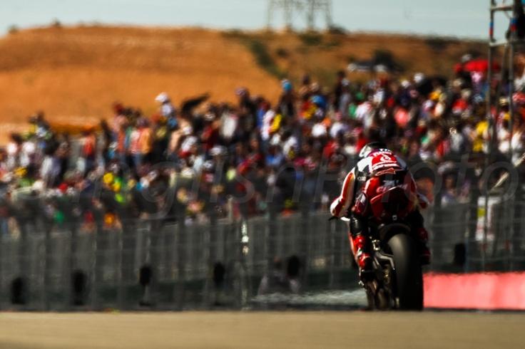 Carlos Checa - Team Ducati Alstare - Circuit Aragon
