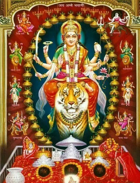 108 Names of Durga: चित्रा Chitra, The Picturesque.