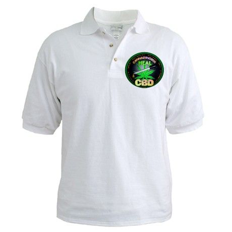 Cannaboids Heal by Valxart Golf Shirt  Nice! Real medicine , thats what we are all about as well #leafedin.org