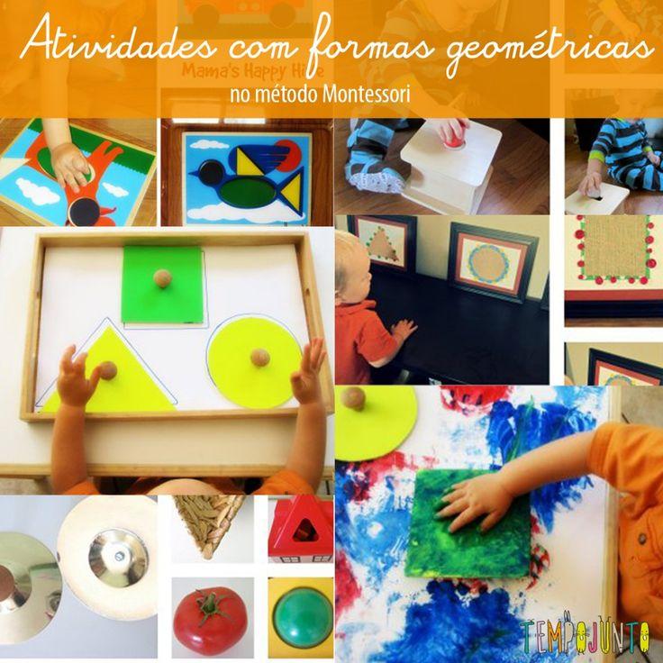 Brincadeiras do método Montessori para o fim de semana – parte 1