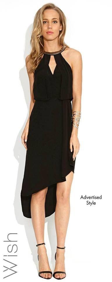 Destination Dress - Black by Wish