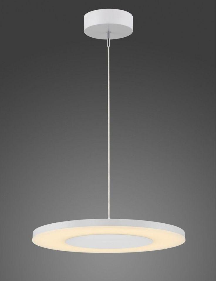 Lámpara LED Discóbolo 48cm Blanco - Bazar Isa
