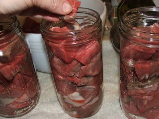 Canning Granny: Canning beef, raw pack