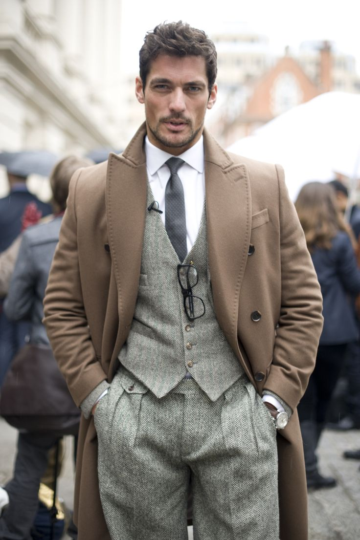 Mr. David Gandy - courtesy of Mr. Porter  I have a really strong attraction to the waistcoat in general, but it doesn't get much better than this.  <3