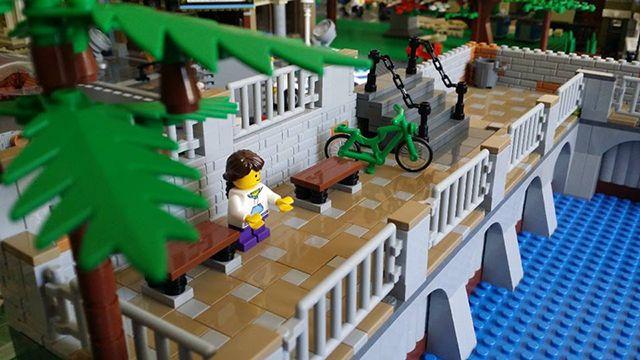 Orasel LEGO - Faleza