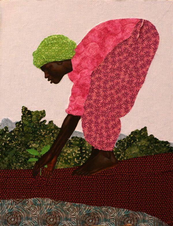 """Peace My People"" by Kadir Nelson"