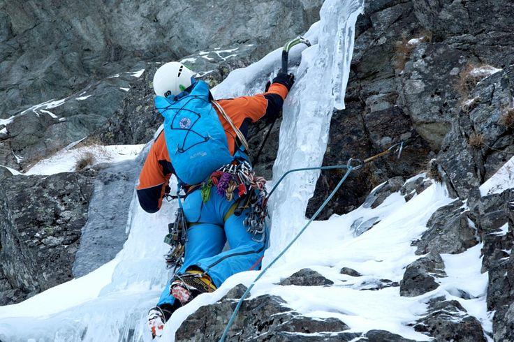 Mixové lezení na Slovensku, aneb když se voda změní vled - HUDY blog