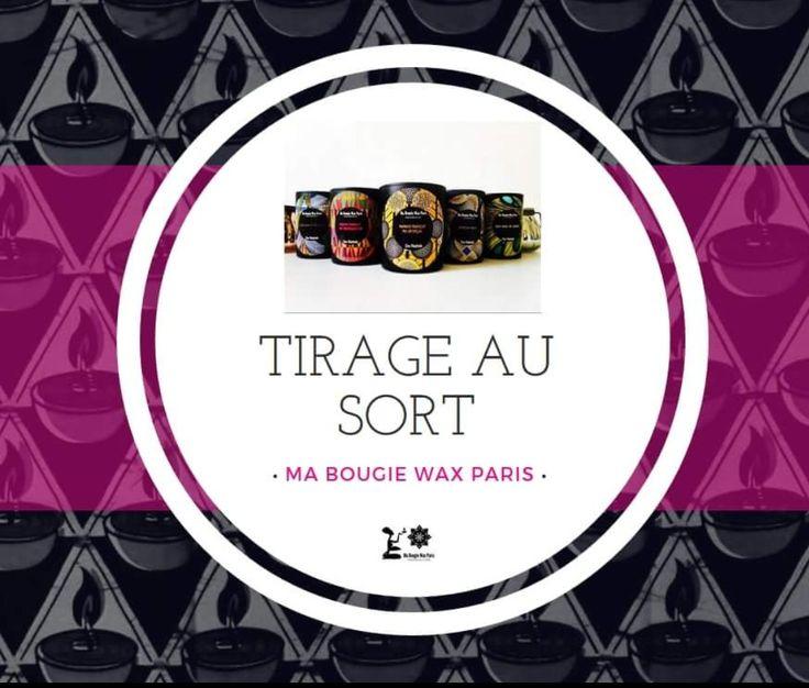 """[TIRAGE AU SORT ]  2 bougies de ton choix à gagner ! 😍 MADE IN FRANCE 🇫🇷 100% CIRE VÉGÉTALE  ♻  Fragances au choix : 🍑Papaye mangue 🌰noix et miel 🌾coco karite  🍀african musk 🌴Bissap vanille  Pour participer, c'est simple : 1/ Liker la page Ma Bougie Wax Paris 2/ Liker l'image et dîtes """"Je participe """" 3/ Partager l'image 4/ Mentionnez 3 amis qui aimeraient trop avoir des bougies parfumées et invitez-les à liker la page et à partager  N'oubliez pas de croiser les doigts !  Fin du jeu…"""