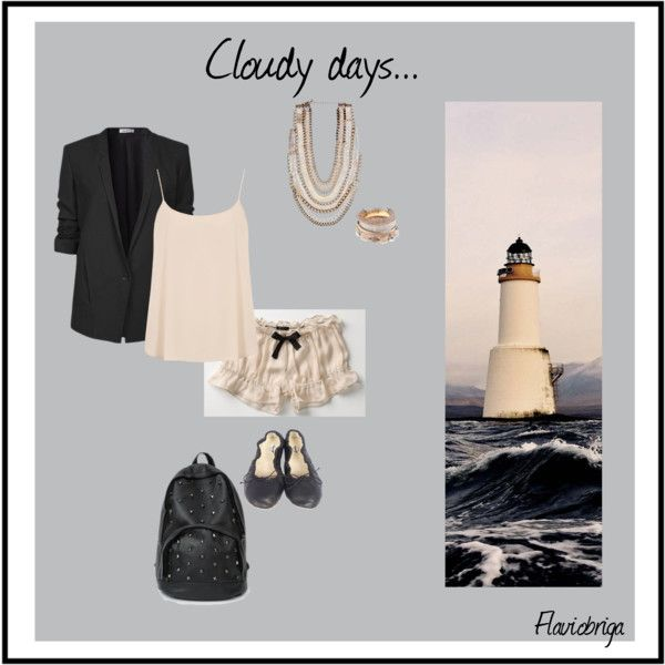 """Cloudy days..."" by flaviobriga on Polyvore"