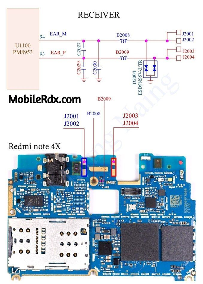 Redmi Note 4x Earpiece Way Ear Speaker Problem Solution Smartphone Repair Screen Repair Earpiece