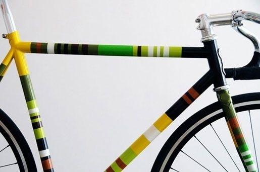 Custom bike decals