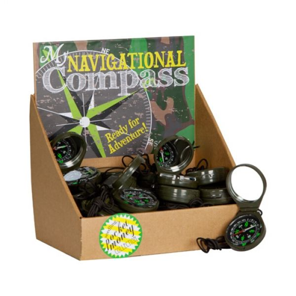 Navigate your way around North, East, South, West! Adventures galore to be had! Dimensions (cm) Width 5 x Depth 2 x Height 6 Recommended for Ages 5+ years