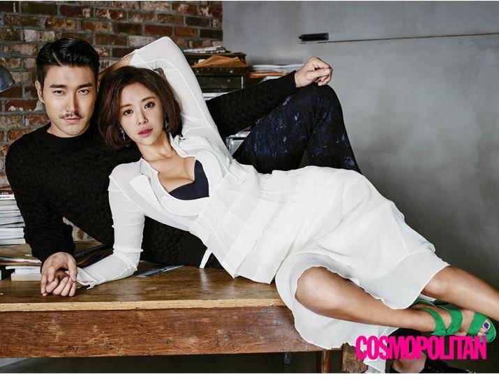 Siwon & Hwang Jung Eum - Cosmopolitan