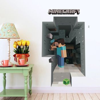Wall paper Minecraft Wall Stickers For Kids Room Decal Home Decor   $ 15.97 // Free Worldwide Shipping     #Minecraft #Minecrafting #Minecraftsword #Minecrafttoy #Minecraftweapons #Creeper #Creepers #Minecraftzombie #Minecraftpickaxe #Pickaxehero #Steve #Minecraftxbox #Minecrafting #Minecraftmobs #s4s #Minecraftlife #Minecraftonly #Minecraftpe #Minecraftpocketedition #Minecraftftw #Minecraftgirl #Minecraftcake #Minecraft4life #Minecraftisawesome #Minecraftfx #Minecraftlife #Minecraftglasses