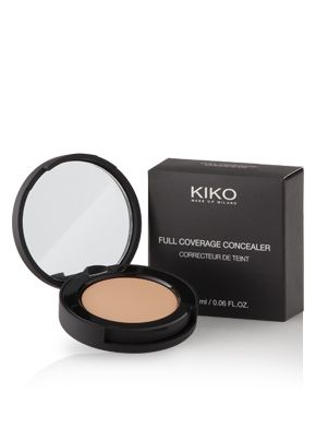 Looking for the perfect concealer: Kiko Full Coverage Concealer