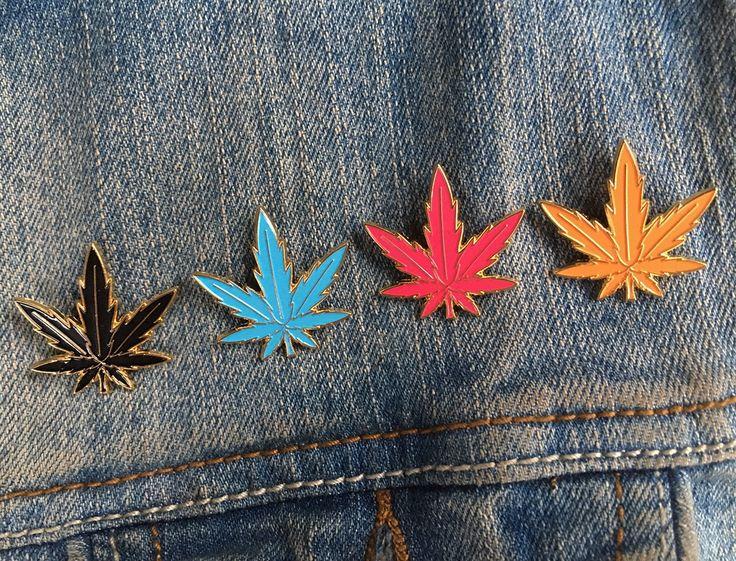 High ranking leaf enamel pins