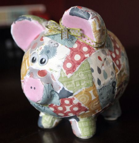 17 best images about scrapbook paper arts on pinterest for Secret piggy bank