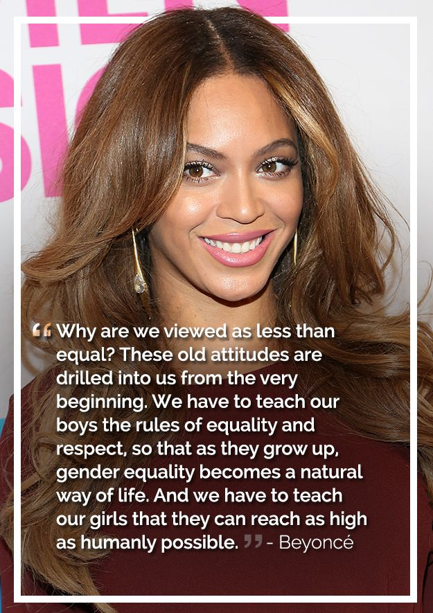 Beyonce | The Most Badass, Inspiring Celebrity Quotes About Feminism In 2014