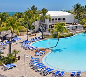 Hotel Sol Cayo Coco is an All-Inclusive 4 star Resort with 270 sumptuous rooms. Located on Cuba's pristine Cayo Coco Island, directly on the water it provides unparalleled access to the beach and seafront, with access to two different virgin beaches.